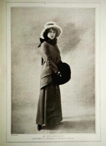 Ева Лавальер в наряде Lanvin