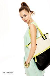 Кара Делевинь в рекламной кампании Reserved