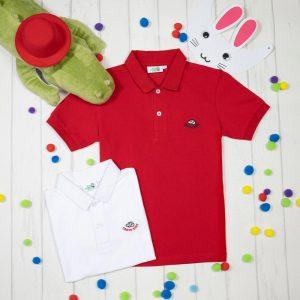 Детская рубашка с коротким рукавом Crocokids