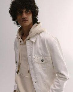 Мужская джинсовая куртка и толстовка Reserved