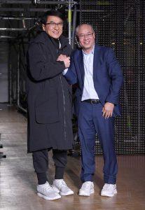 Ли Нин и Джеки Чан