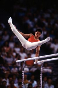 Ли Нин на летней Олимпиаде 1984-го