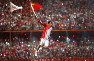 Ли Нин на летней Олимпиаде 2008-го