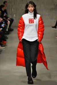 Показ модной одежды Li-Ning в Париже