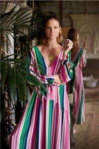 Шелковое платье Hesper Fox