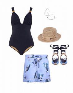 Женские пляжные шорты Hesper Fox