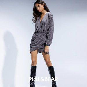 Платье и сапоги Pull&Bear