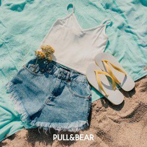 Пляжный набор для женщины Pull&Bear