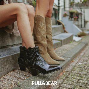 Женские сапоги Pull&Bear
