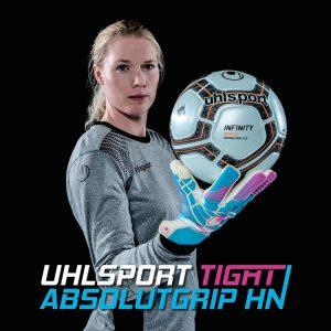 Хедвиг Линдаль в футбольной экипировке Uhlsport
