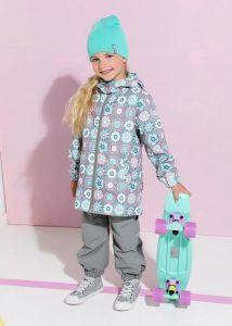 Весенняя одежда для девочек Crockid