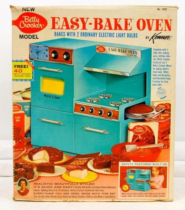 Детская кухонная плита Kenner Easy-Bake Oven