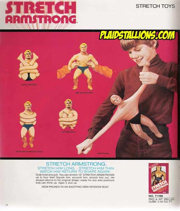 Игрушка Kenner Stretch Armstrong