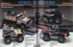 Серия Tonka Steel Monsters