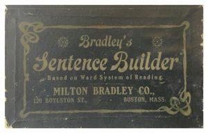 Bradley's Sentence Builder