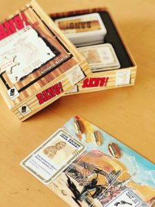 Карточная настольная ролевая игра dV Giochi Bang!