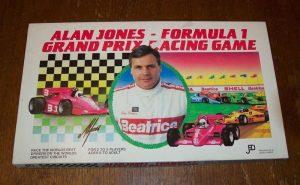 Настольная игра Jedko Games Alan Jones Formula 1 Grand Prix Racing Game