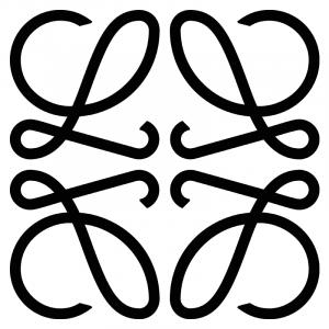 Монограмма Loewe