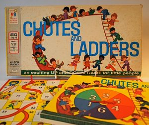 Milton Bradley Chutes & Ladders