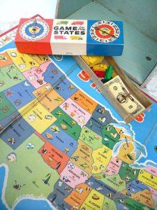 Milton Bradley Game of the States