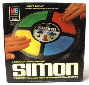 Milton Bradley Simon