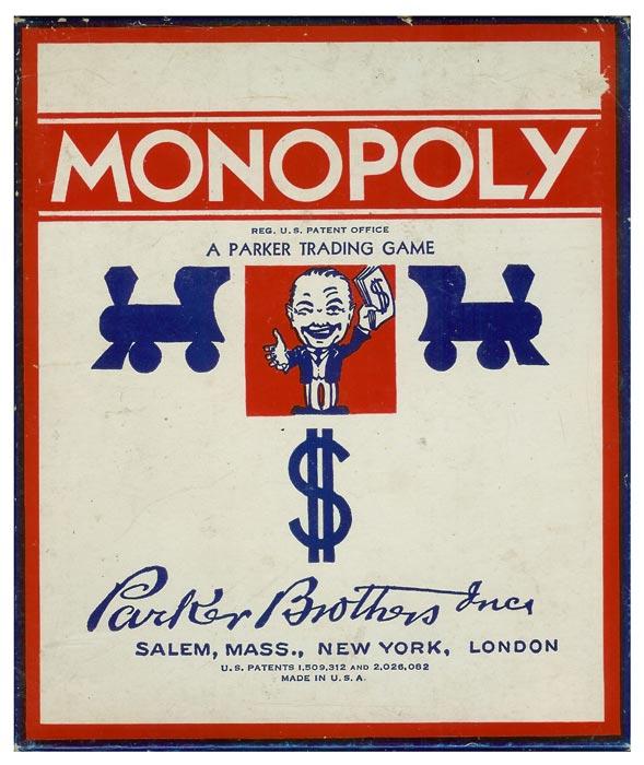 Настольная игра Parker Brothers «Монополия»