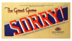 Настольная игра Parker Brothers Sorry!