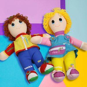 Развивающие куклы Dressy Bessy и Dapper Dan