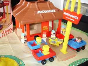 Playskool Familiar Places ресторан McDonald's