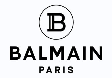 Логотип Balmain