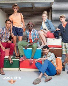 Модные образы Dockers