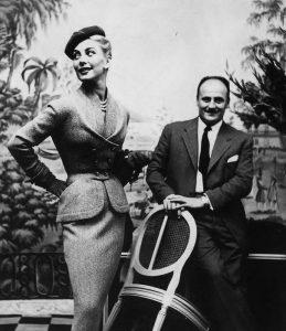 Пьер Бальмен со своей моделью