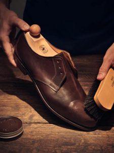 Щетка и крем для обуви Ludwig Reiter